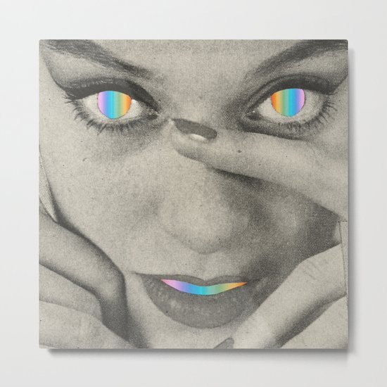 Internal rainbow Metal Print
