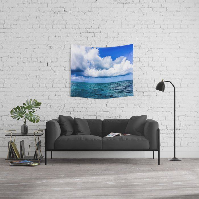 Out on the Open Sea Wall Tapestry