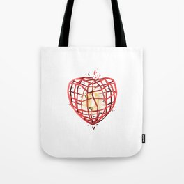 Take Care of My Heart, Valentine Tote Bag