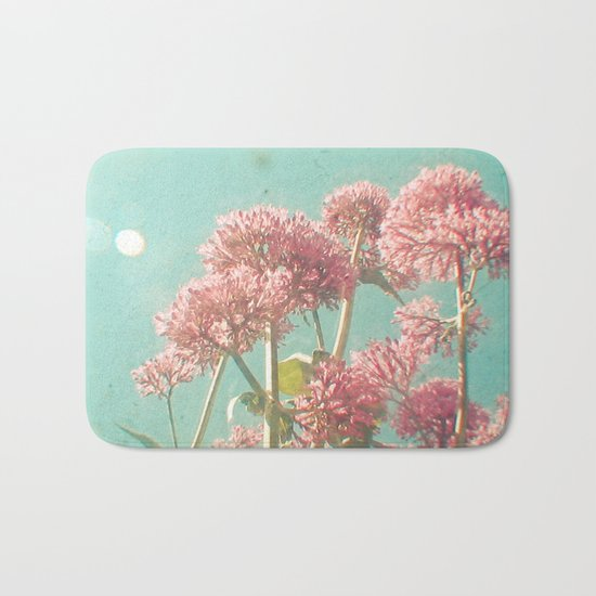 Pink Milkweed Bath Mat