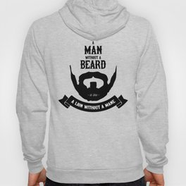 A man without a beard Hoody
