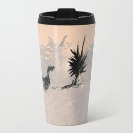 a walking duk Travel Mug
