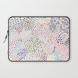 Mermaid Rainbow Dots Colorful Abstract Gems Laptop Sleeve