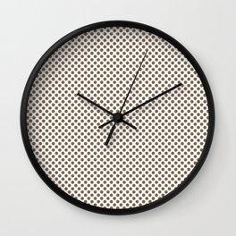 Otter Polka Dots Wall Clock