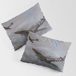 126 Squadron Spitfires Pillow Sham