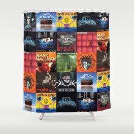Mark Mallman - Album Compilation Shower Curtain