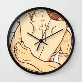 Heaven Cross Wall Clock