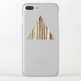 Record Collection Clear iPhone Case