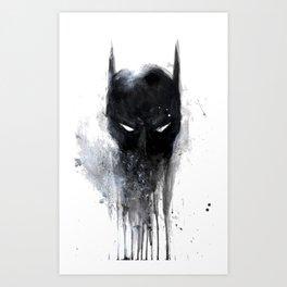 Bat Man fan art Art Print
