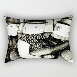 Three Musicians Rectangular Pillow