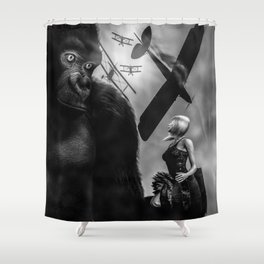 Kong Shower Curtain