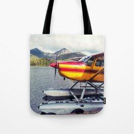 Docked Seaplane Tote Bag