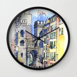 Porta Soprana Wall Clock