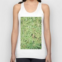 plants Tank Tops featuring plants by sassycats