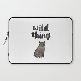 Wild Thing Bear Laptop Sleeve