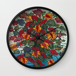 Seraphine Louis The Large Bouquet Wall Clock