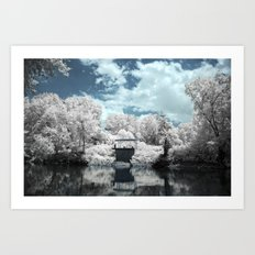 Green River | Infrared Art Print