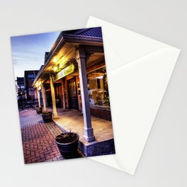 Florist At Dusk Stationery Cards