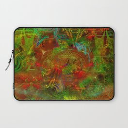 Swirling Stew (abstract, psychedelic, visionary) Laptop Sleeve