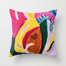 Colori Vivaci Throw Pillow