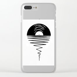 Record Sunsets Clear iPhone Case