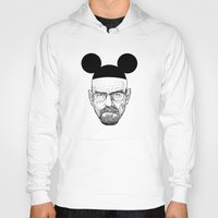walter white Hoodies featuring Walter White by Barbo's Art