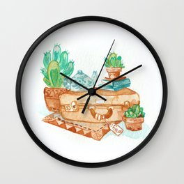 Travel Time Wall Clock