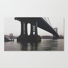 NY Bridges Series No.1 Canvas Print