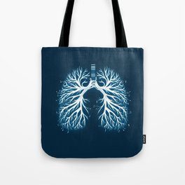 I Breathe Music Tote Bag