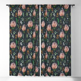FLORAL STUDY Blackout Curtain