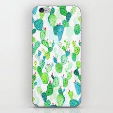 Watercolour Cacti iPhone & iPod Skin