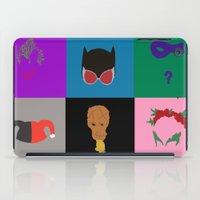gotham iPad Cases featuring Gotham Villains by Crayle Vanest