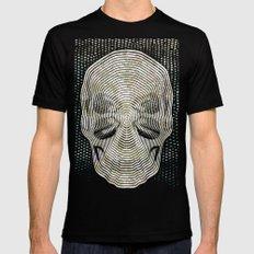 Twilight 4 Eyes Skull Black MEDIUM Mens Fitted Tee