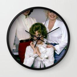 Lily Tomlin Jane Fonda Dolly Parton print Wall Clock