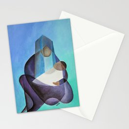 Mary and The Baby Messiah Stationery Cards