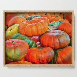 Heirloom Pumpkins Serving Tray