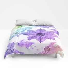Morning Glory #1 Comforters
