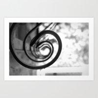 Window Bars Art Print