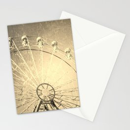 Happy metal Stationery Cards