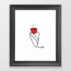 joint Framed Art Print