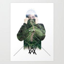 Alan Walker Art Print