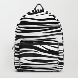 Pandanus Bark - Black Backpack
