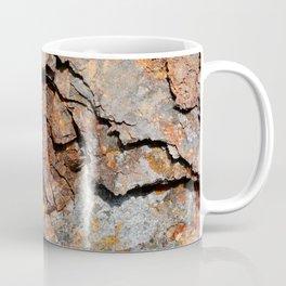 Rust-eaten metal panel Coffee Mug