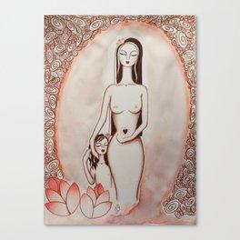 Ninfea * Lotus Flower Canvas Print