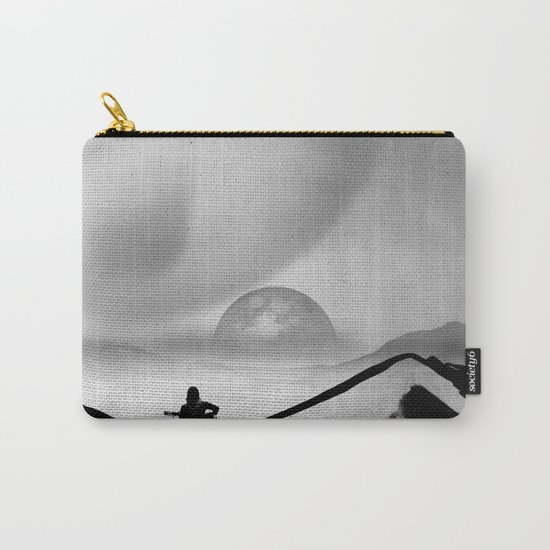 Black Space Song Carry-All Pouch