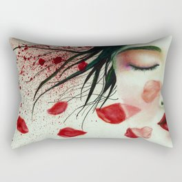Head Wounds Rectangular Pillow