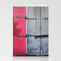 memphis Stationery Cards featuring Memphis Window by wendygray