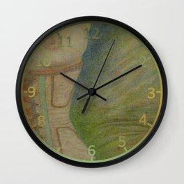 A Lingering Glance Wall Clock