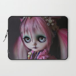 LITTLE OCTOPUS CUSTOM BLYTHE ART DOLL PINK NAVY Laptop Sleeve