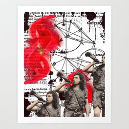 Copernican  Man Art Print